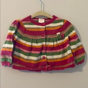 Gymboree 3-6 month cardigan
